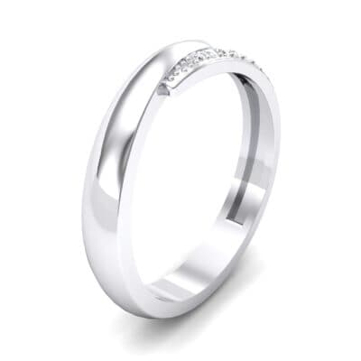 Caress Solitaire  Crystal Ring (0.07 CTW)