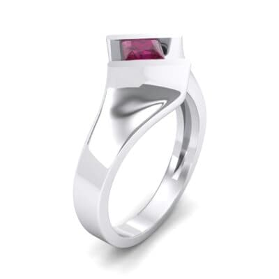 Bold Tension Ruby Ring (0.45 CTW)