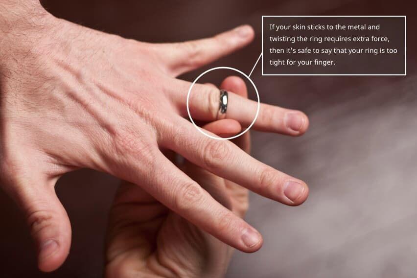 Is Your Ring Too Tight